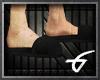 G! Black Slippers