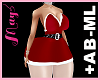 +AB-ML Bimbo Dress Xmas
