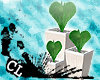 CL Kawaii Heart Topiary