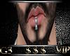 Lip Piercing-Silver-H1