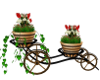 Patio Planter Cart