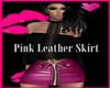 Je Pink Leather Skirt