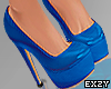 Patent Leather Shoes Blu
