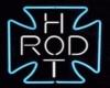 Neon Hot Rod Cross