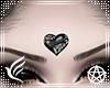 Black Heart Bindi