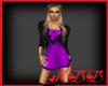 KyD Foxxy Violet Dress