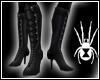 Black Battle Boots