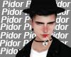 P. Black Hair+Hat
