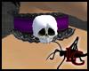 Skull Lace Collar P/B
