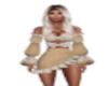 Boho Tank Ruffle skirt