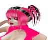 PINK RAVE  GIRL hair