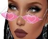 Heart Lips Glasses