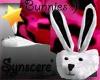 *S Bunny Slippers B