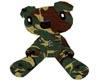 *L* Army Huggie Bear