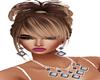 lilac/blk jewel 2 piece