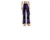 purple hatchetgirl pants