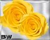 Falling Yellow Roses