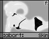 :abort: White PVC Skin f