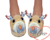 Male Deer Slippers