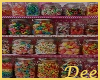 Candy Display Shelf