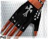-P- Gothic Stud Gloves