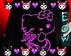 Hello Kitty*t-shirt* Blk