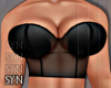 Bustier Black | Top