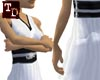 Samurai Dress n/s White