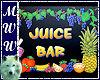 Juice Bar Sign #2