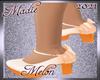 !a Kid Melon Heels
