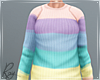 Pastel Colors Sweater
