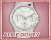 !AD! Classic White Watch