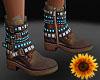 BoHo Boots beads