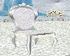 W. & Silvr Wedding Chair