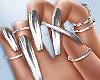 ❤ Nova Silver Nails