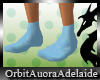 ~OA~ Baby Blue Socks