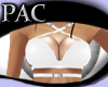 *PAC* Strapped Top White