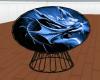 Blue Dragon Cuddle Chair