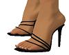 Black Dress up Sandals