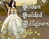Golden Guilded Ballgown