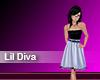 (M) Lil Diva Sky Blue