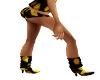 Rave Yellow Lts Boots