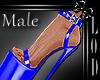 !! Male Blue Platform