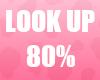 🔔 Look Up 80% Unisex