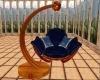 Blue Cuddle Swing