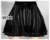 Black Latex Skirt RL