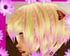 Pink Flower Hair Short