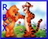 Poo & Tigger Wall Hangin