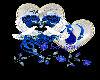 sticker heart blue