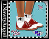 (1NA) Saddle Shoes RED